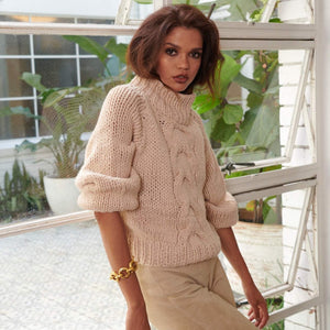 V A L L E Y  Chunky Knit Sweater