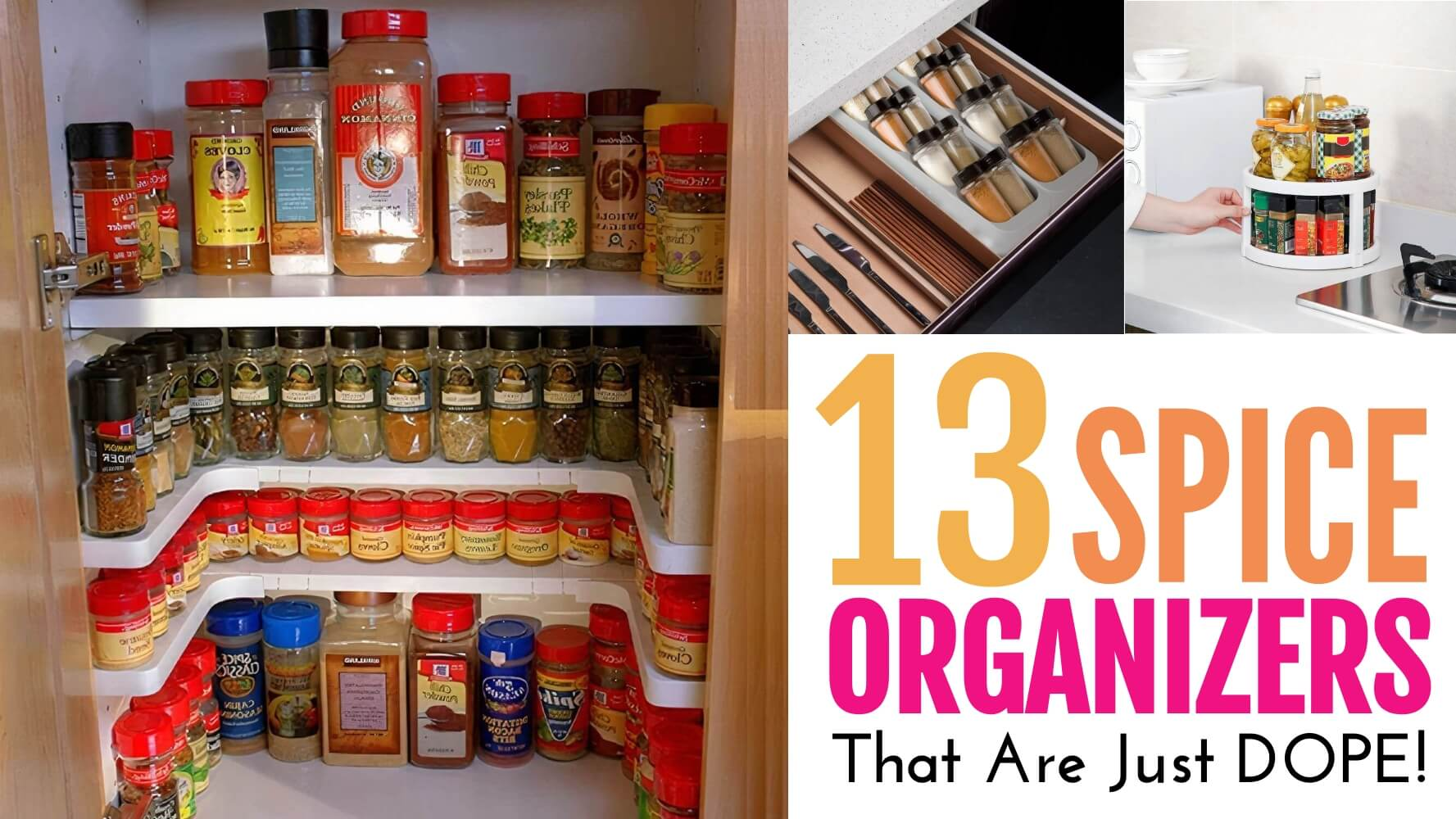 13 spice organization ideas