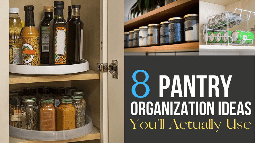 How To Organize Pantry Cabinet