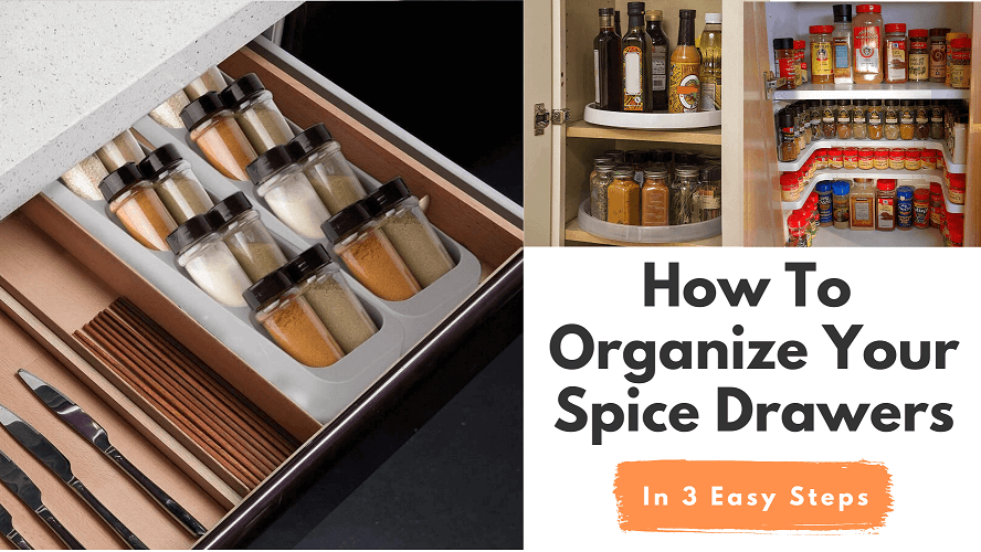 How To Organize Your Spice Drawers