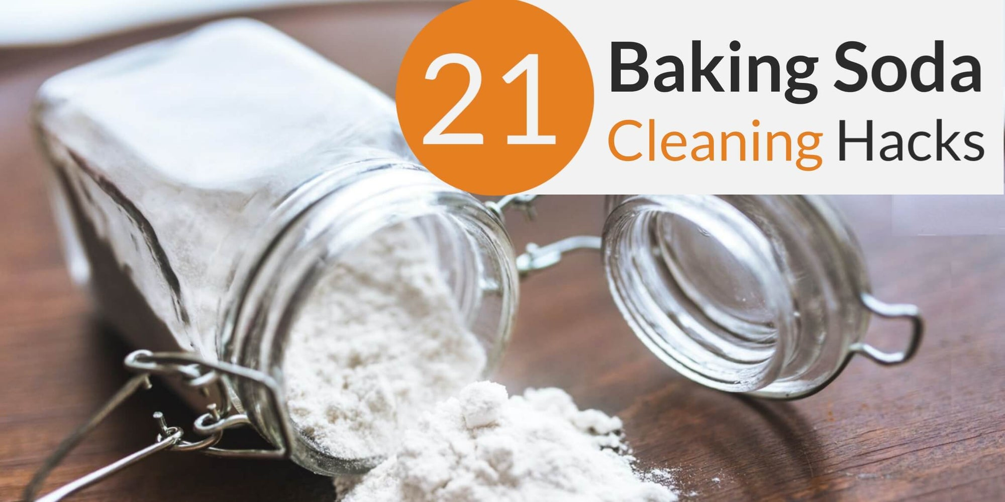21 Practical Baking Soda Cleaning Hacks