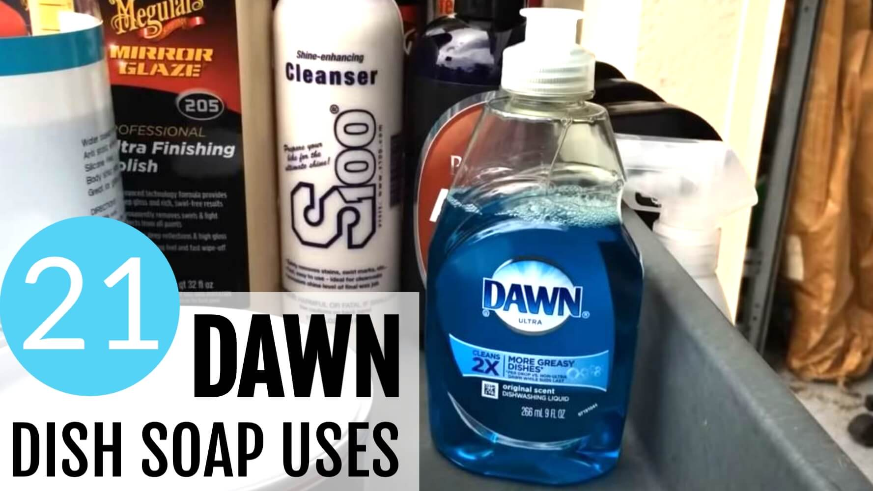 21 Brilliant Dawn Dish Soap Uses