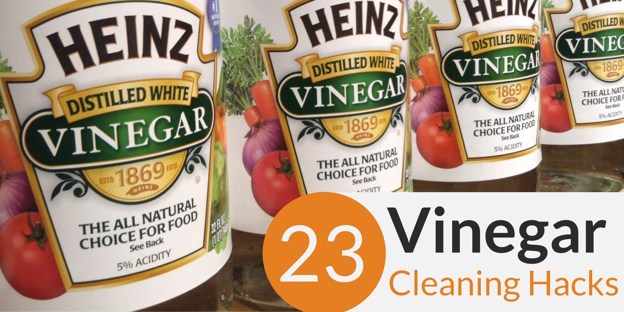 23 Practical Vinegar Cleaning Hacks That Works