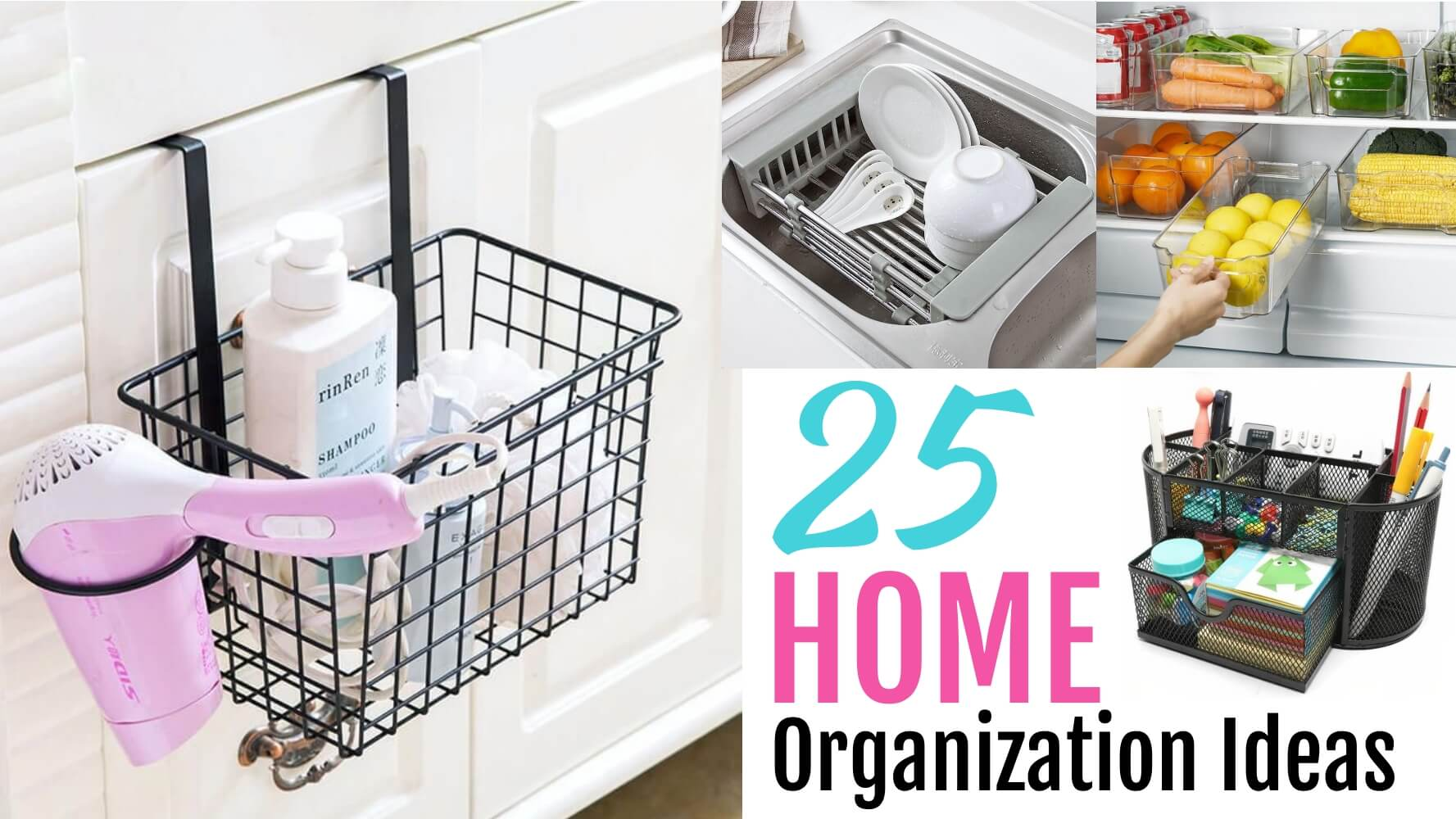 25 home organization ideas