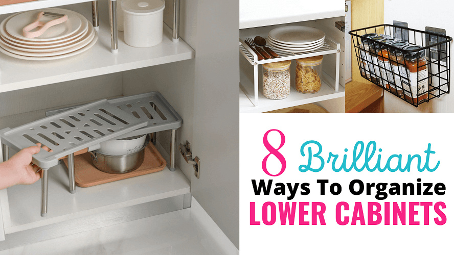 How To Organize Lower Kitchen Cabinet