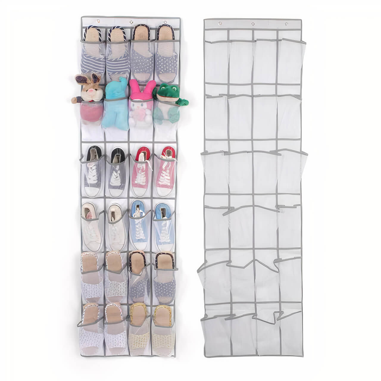 24 Pockets Over The Door Organizer