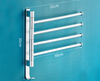 Multi-Arm Bathroom Towel Rack