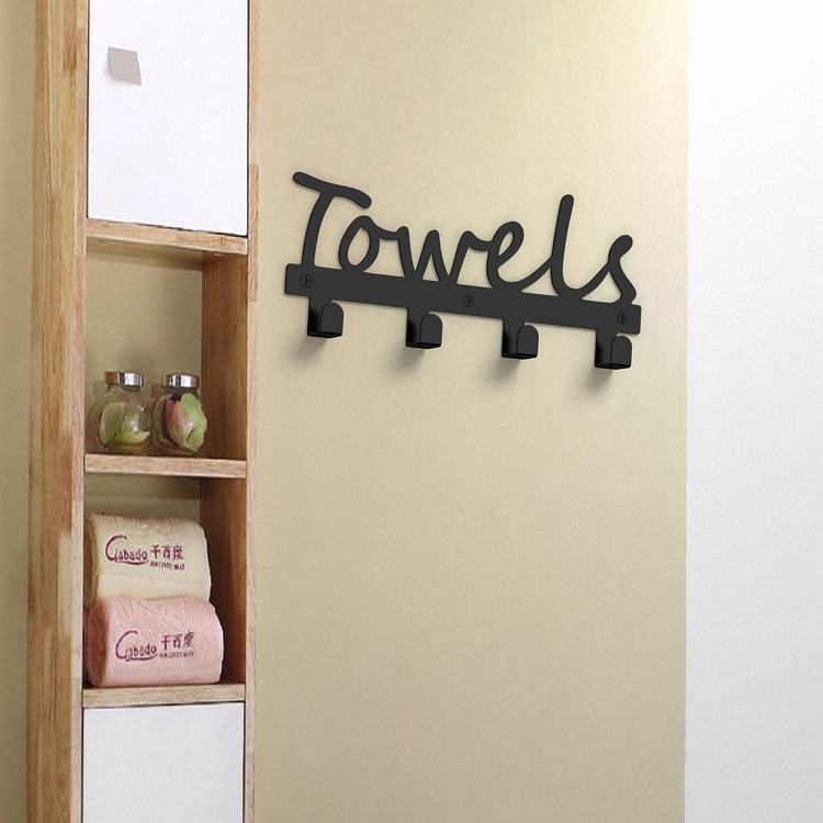 Rustic Style Towel Holder