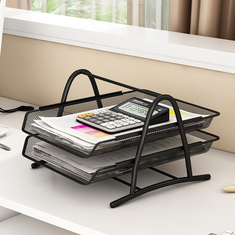 Multi-Layer Mesh Desk Organizer