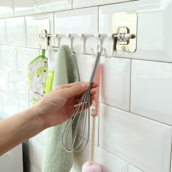 Stainless Steel Wall Mounted Hooks