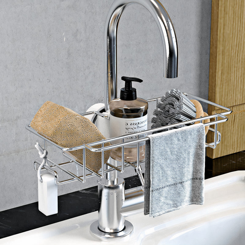 Stainless Steel Faucet Rack