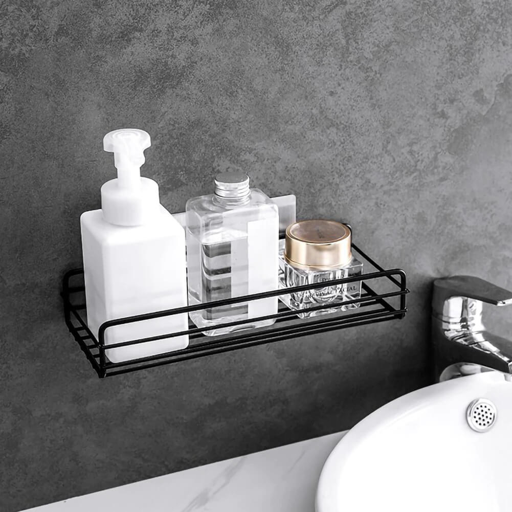 Homewhis Punch Free Bathroom Caddy