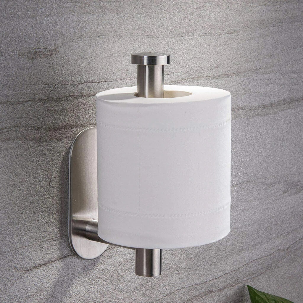 Drill Free Stainless Steel Toilet Paper Holder