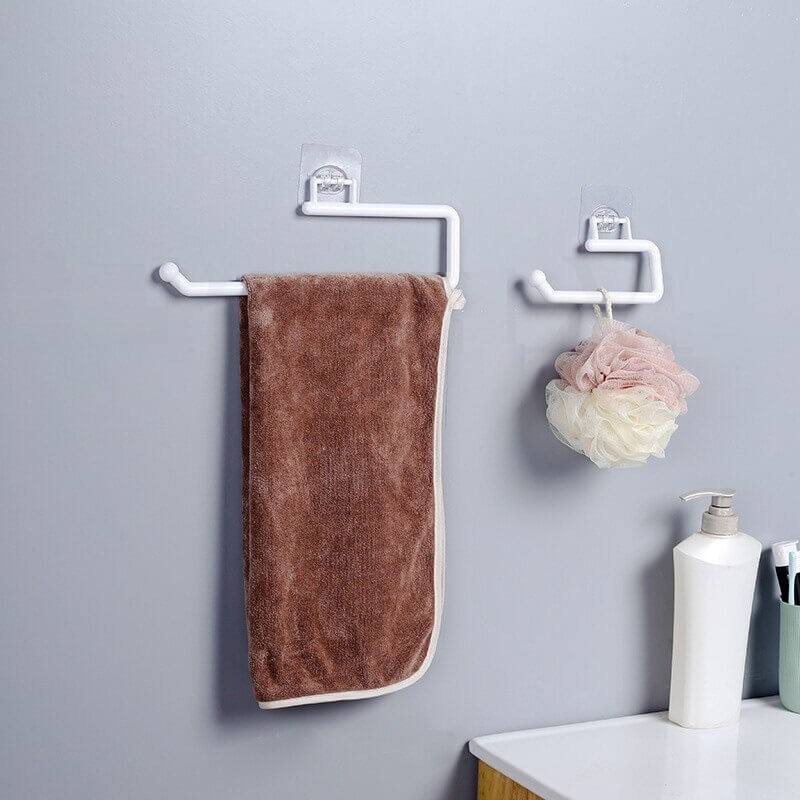 Kitchen Paper Hanger Roll Paper Storage Rack