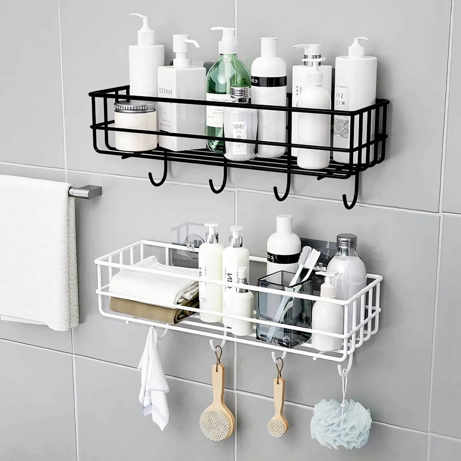 Drill Free Wall Mounted Caddy