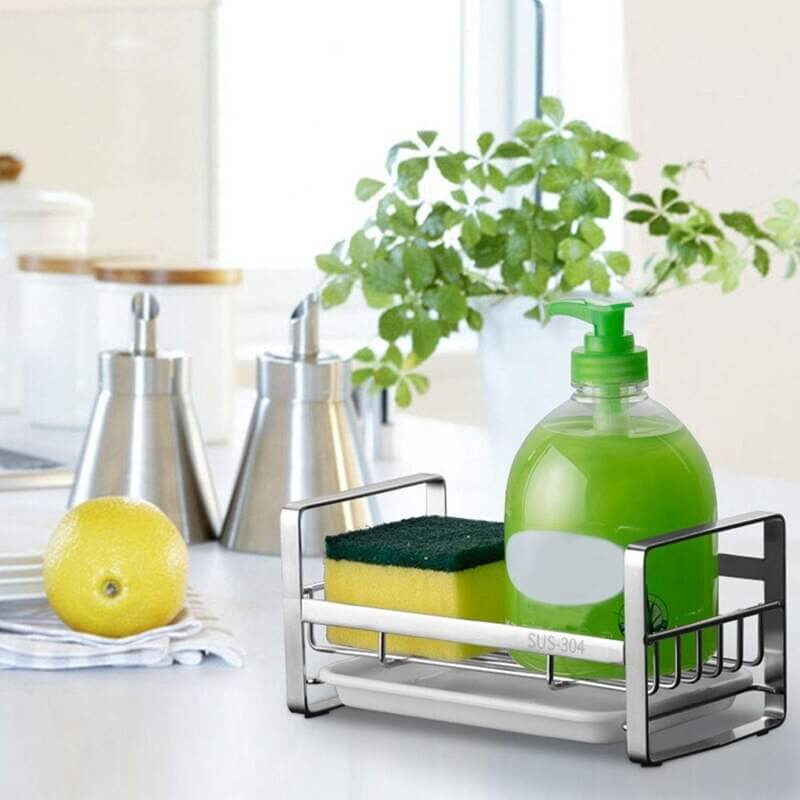 Stainless Steel Dish Soap Holder