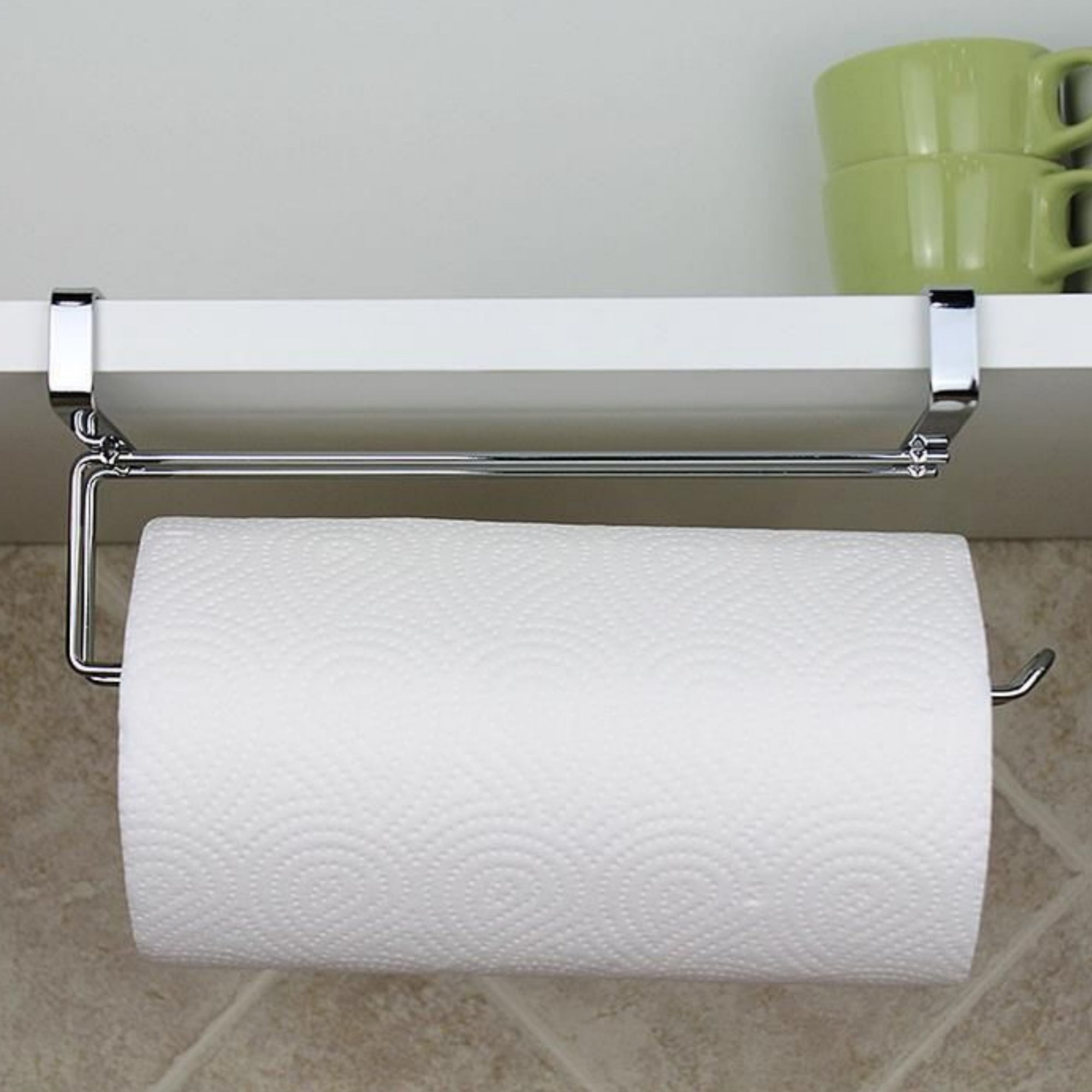 Cabinet Door Paper Towel Holder