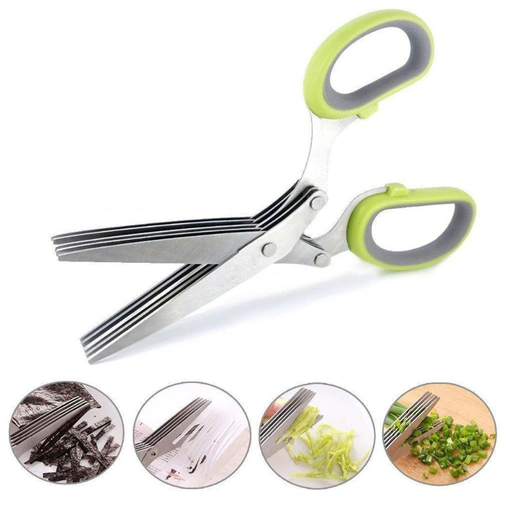 3 Layers Kitchen Scissors