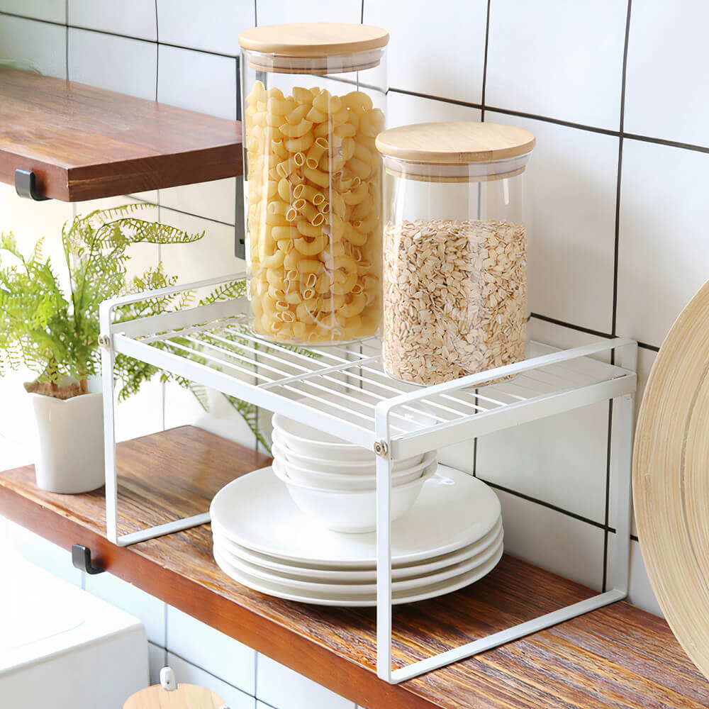 Dual Layer Storage Rack