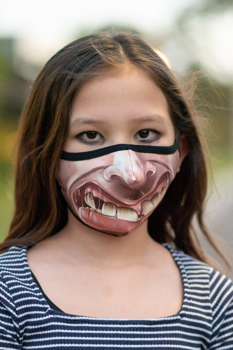 Halloween Scary Mouths 2 Pack Masks