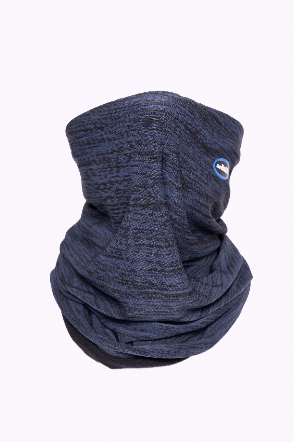 Fitted Ink Navy Adjustable Layered Snoods