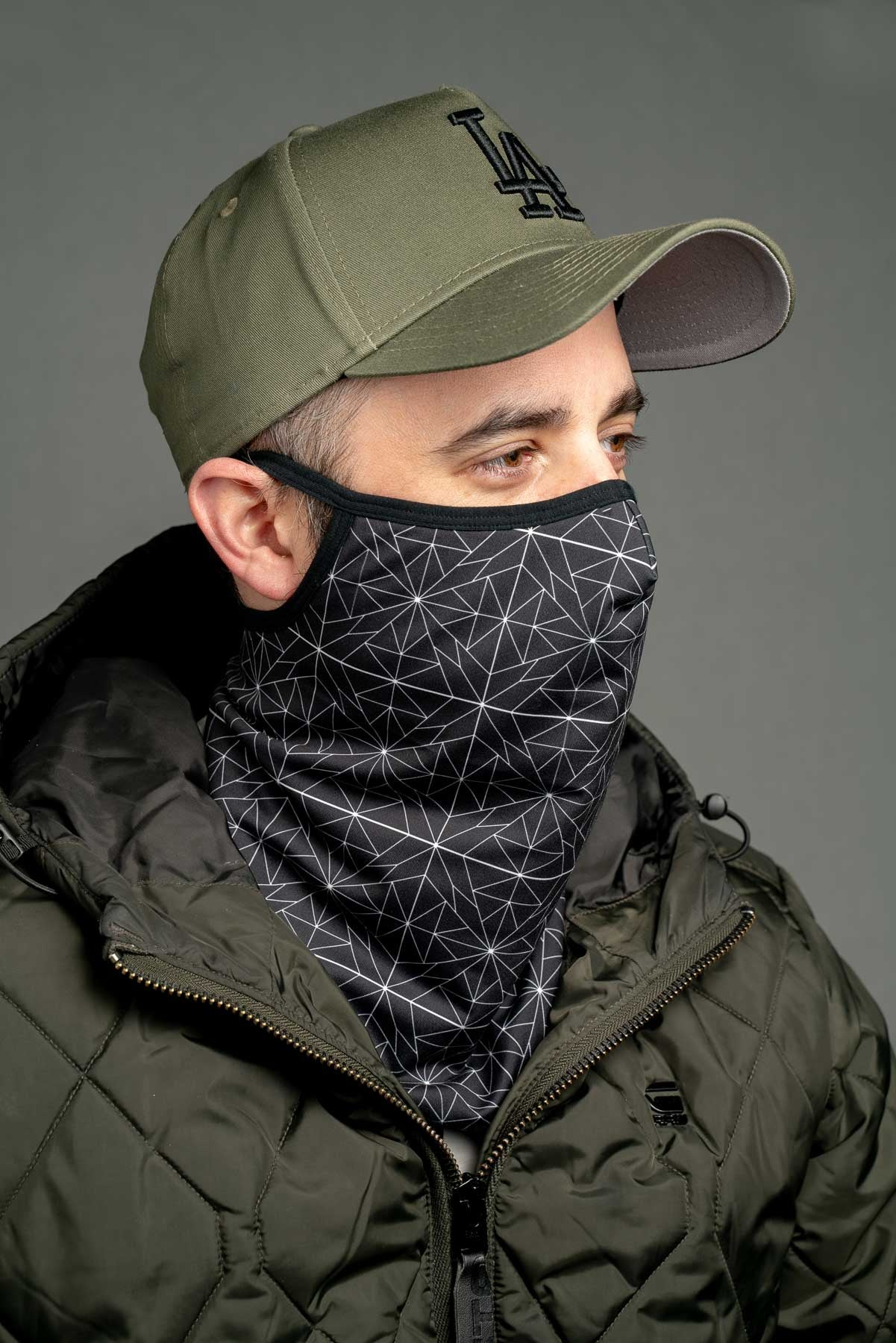 "Fitted Starry Night ""Stay Up"" Snood"
