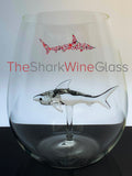 The Stemless Shark Wine Glass™ - Featured On Delish.com, Housebeautiful.com & People.com