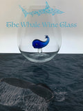 The Stemless Whale Wine Glass™ Crystal - Featured On Delish.com, HouseBeautiful.com & People.com