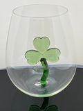 The Stemless Shamrock Wine Glass™l - Featured On Delish.com, HouseBeautiful.com & People.com
