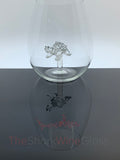 The 3D Stemless Sea Turtle Wine™ Glass Crystal - Featured On Delish.com, HouseBeautiful.com & People Magazine/People.com