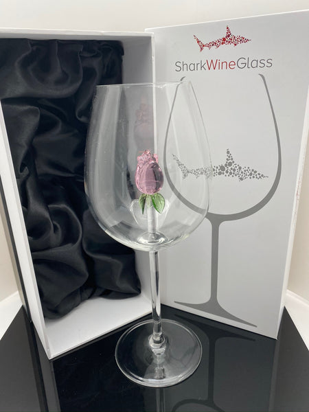 The 3D Stemmed Rose Wine Glass™ Crystal - Featured On Delish.com, HouseBeautiful.com & People Magazine/People.com