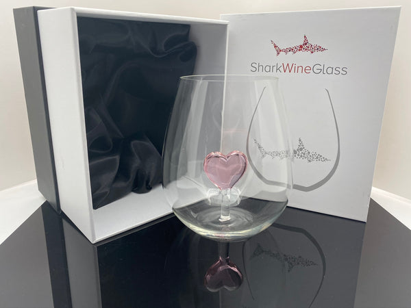 The Stemless Heart Wine Glass™ Crystal - Featured On Delish.com, HouseBeautiful.com & People.com