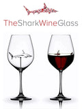The Shark Wine Glass by Glass House Glassware