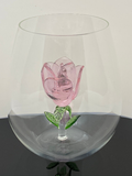 The Stemless Rose Wine Glass™ Crystal - Featured On Delish.com, HouseBeautiful.com & People.com