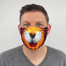 Load image into Gallery viewer, Lion Fitted Face Mask