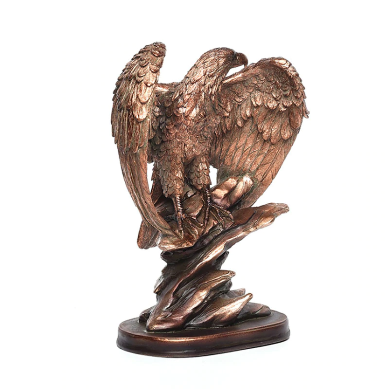Triumphant Eagle Figurine
