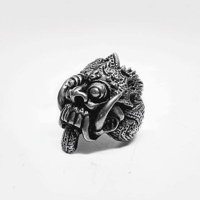 Ancient Bali Skull Ring