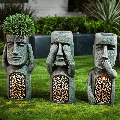 Easter Island Solar Statue