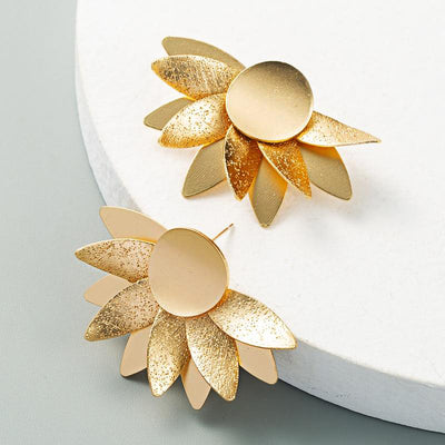 Erica Sunflower Earrings