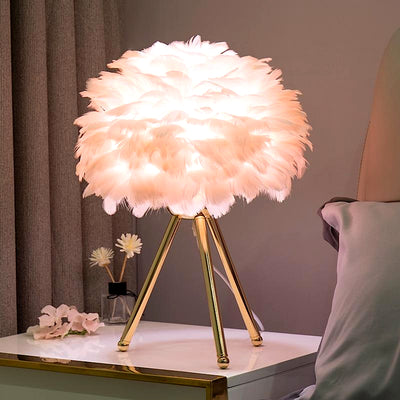 Goose Feather Cloud Lamp