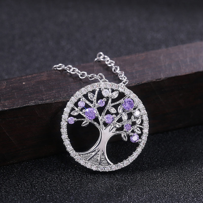 Cosmo Tree Gem Necklace