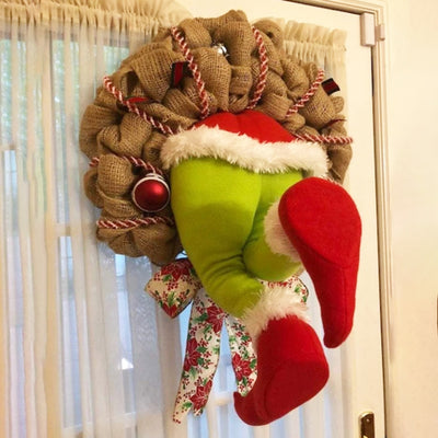 Christmas Bandit Wreath