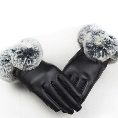 Aria Leather Touchscreen Gloves
