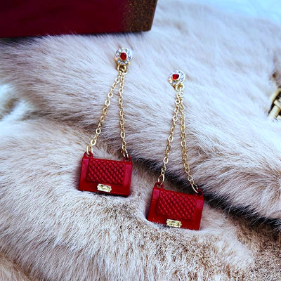 Luxe Mini Handbag Earrings