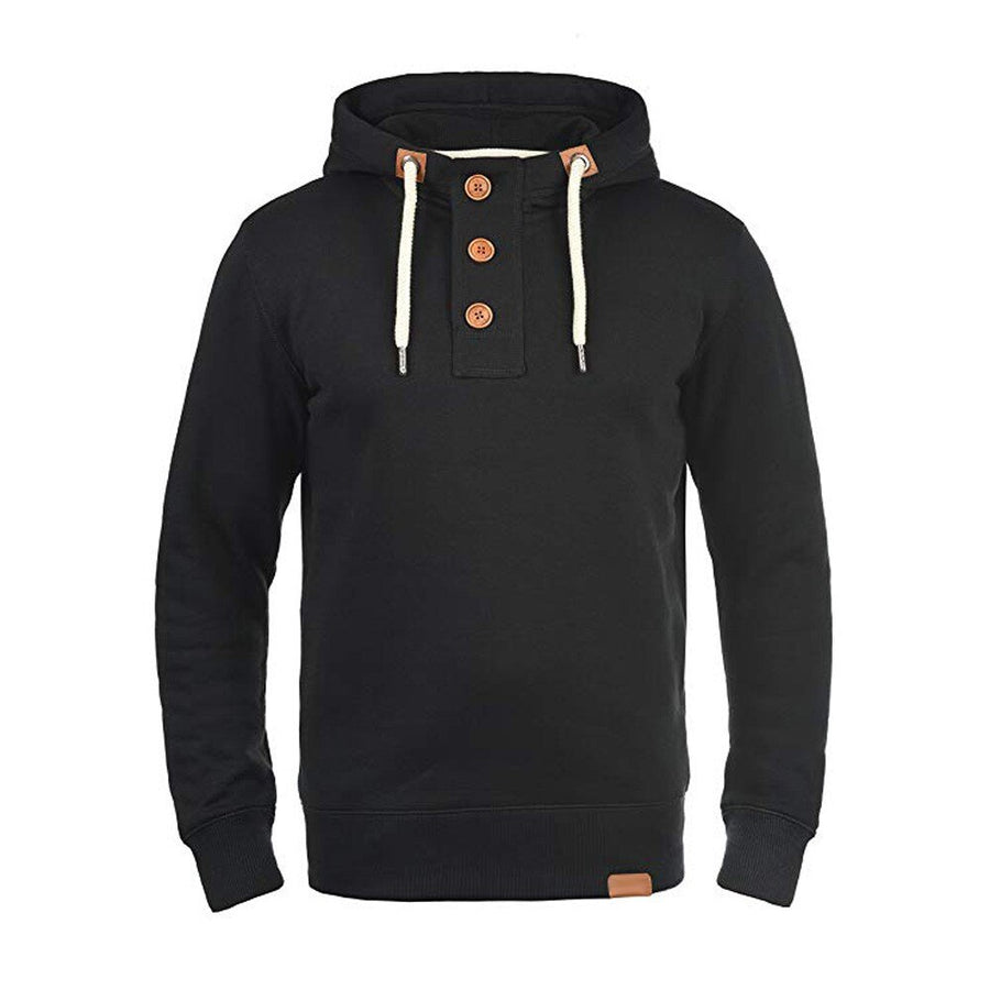 Brooklyn Neck Button Hoodie