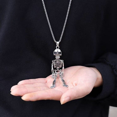 Stainless Steel Skeleton Necklace