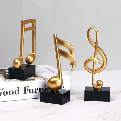 Musical Note Figurines