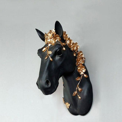 Mystical Horse Wall Sculpture
