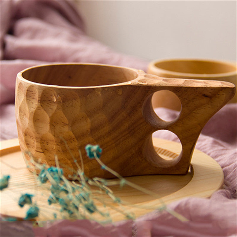 Moroccan Wood Coffee Mug
