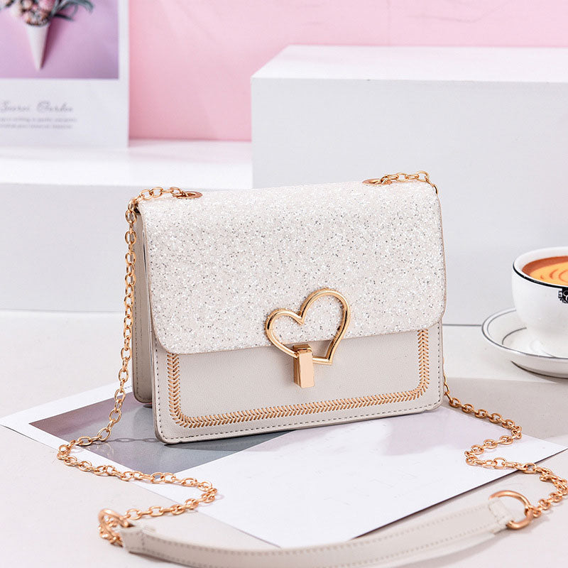 Sophia Heart Shoulder Bag